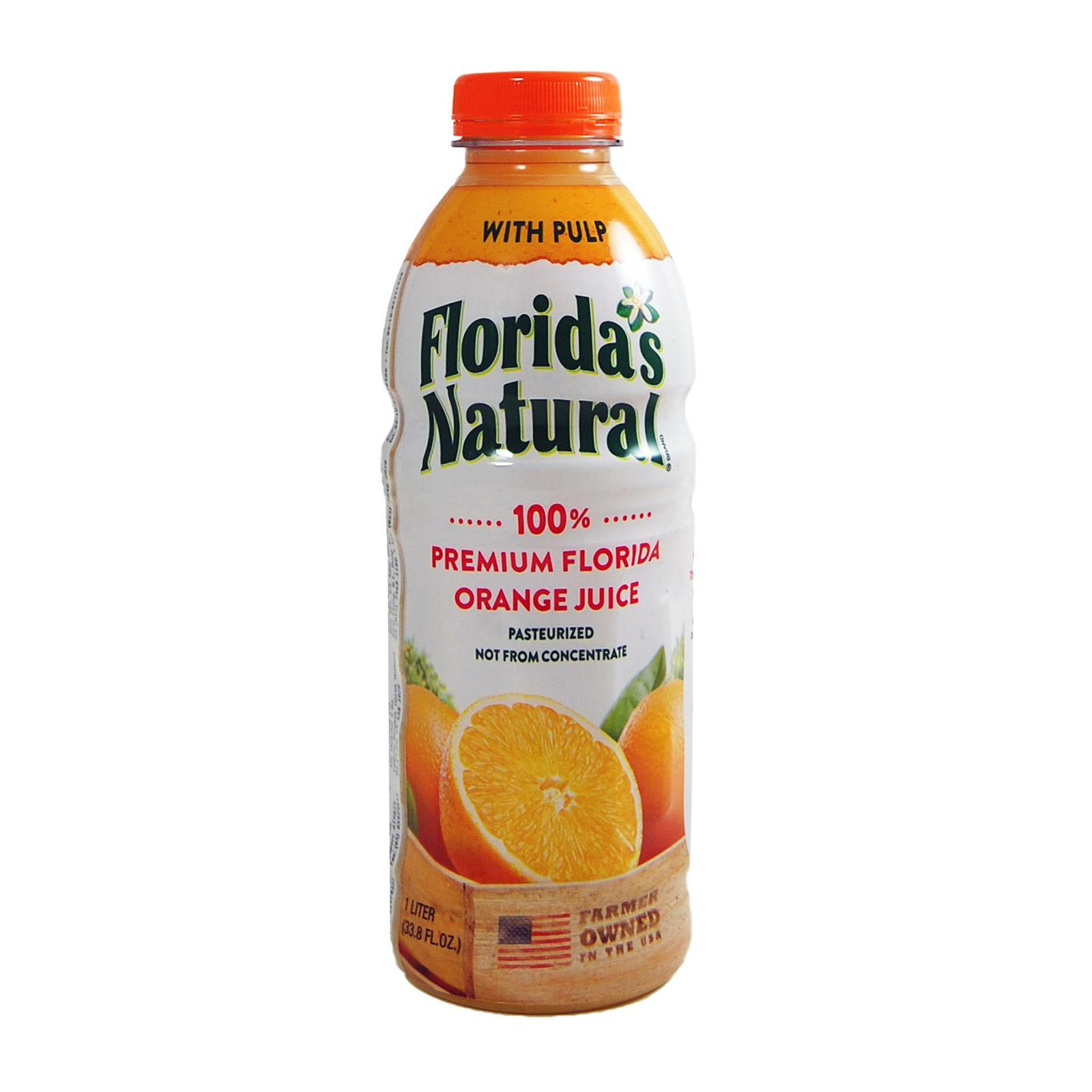 FLORIDA'S NATURAL Orange Juice With Pulp 1L