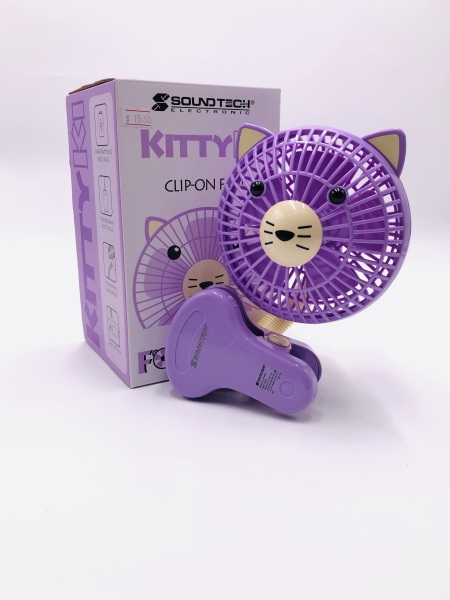 mini fan clip on pram etc purple Singapore