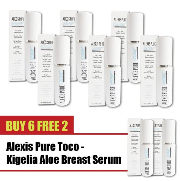 Buy Buy 6 Free 2 Alexis Pure Toco-Kigelia Aloe Extra Strength Serum ENHANCE - Breast Firming Serum & Cleavage Enhancement Cream - Natural Tightening & Lifting For Appearance Of Fuller, Rounder, Youthful Bust  Safe Alternative To Surgery -50ml Singapore