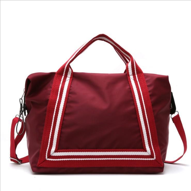 Fan rui duo Travel Bag Female Hand Light Storage Korean Style Short Trip Large Capacity Online Celebrity Tourism Business Trip Luggage Bag