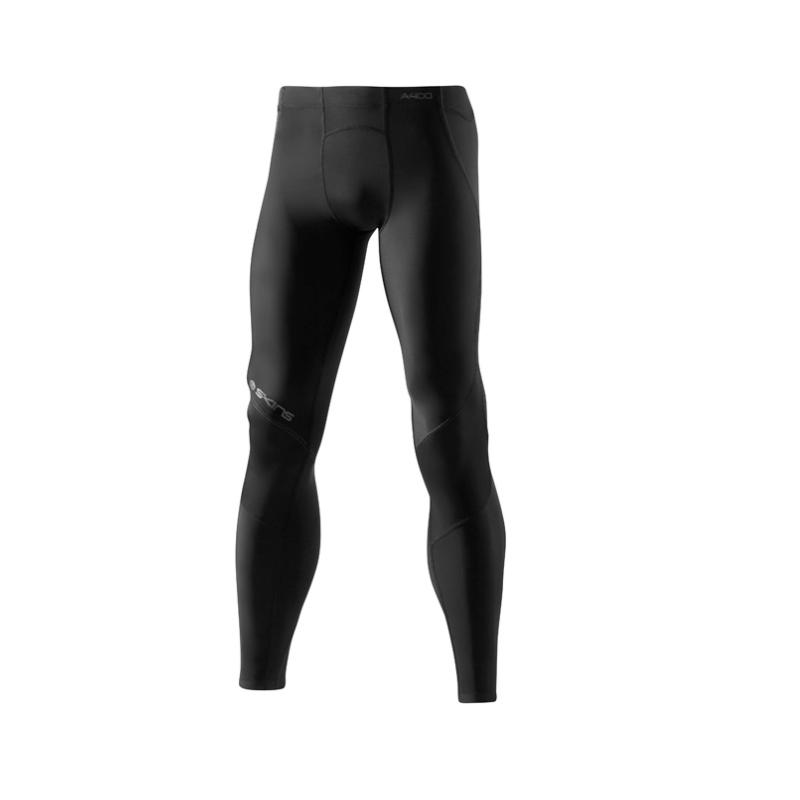d9e4a5ddc893ab SKINS A400 Long Tights - Men (Black/Charcoal) B40040001