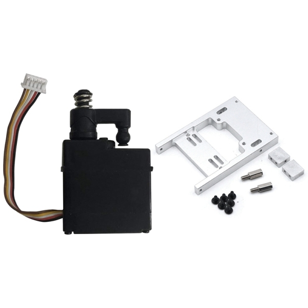 Mua Steering Servo Warehouse Upgrade Fixed Mount Bracket for WPL B1 B14 & 5 Wires Servo Gear Spare Part for XLH 1/16 9130
