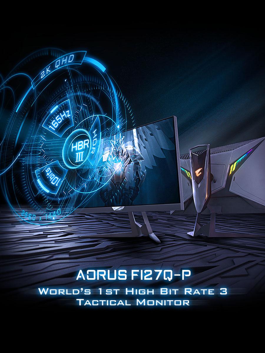 AORUS FI27Q-P Gaming Monitor