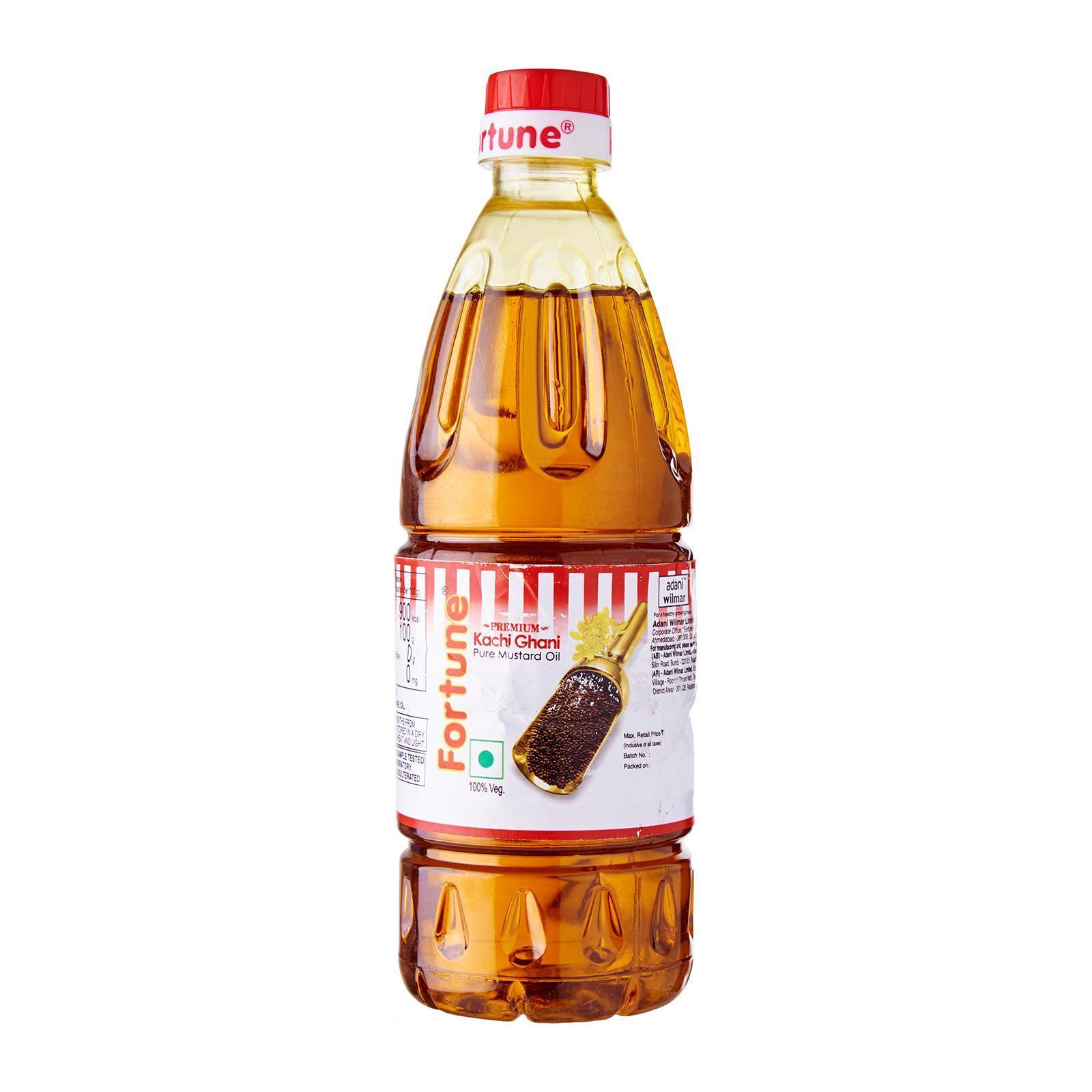 Fortune Premium Pure Mustard Oil (kachi Ghani) 500ml By Redmart.