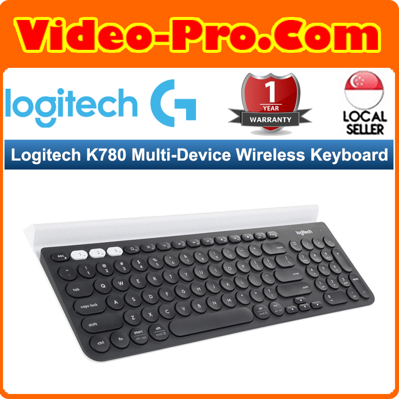 Logitech K780 Multi-Device Wireless Keyboard 920-008028 Singapore