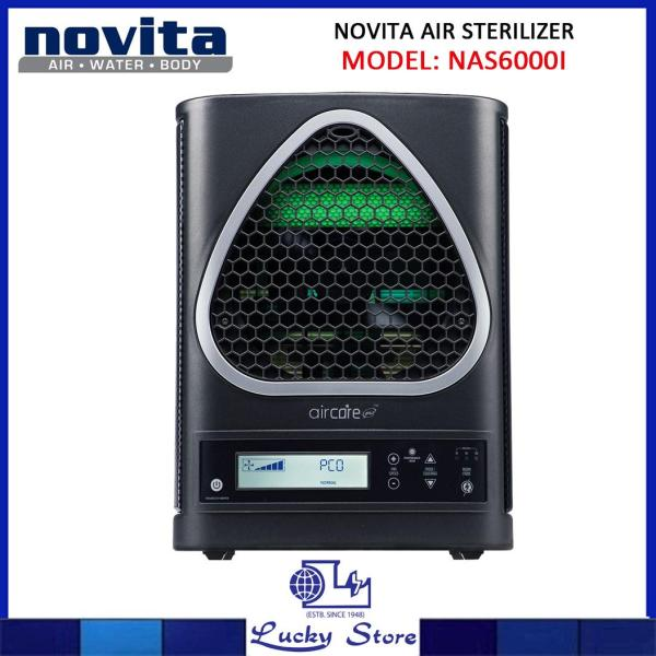 Novita AirCare Pro™ Air/Surface Sterilizer NAS6000i (Black), Air Purifier, Singapore Warranty Singapore