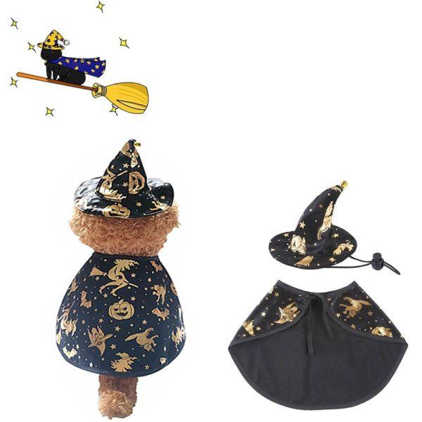 GA27524 Cho Bữa Tiệc Halloween Cho Chó Mèo Trang Phục Dự Tiệc Buồn Cười Áo Choàng Halloween Hàng May Mặc, Bộ Halloween Cho Chó Trang Phục Halloween Cho Thú Cưng
