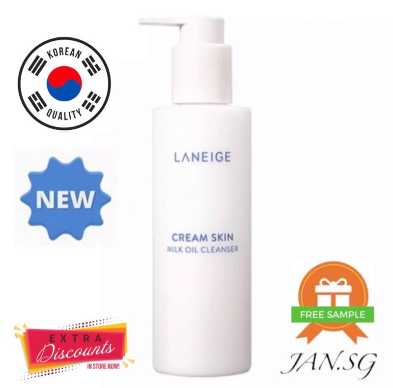 Buy *LATEST STOCKS EXPIRY 2022* Laneige Cream Skin Milk Oil Cleanser 200ml Singapore