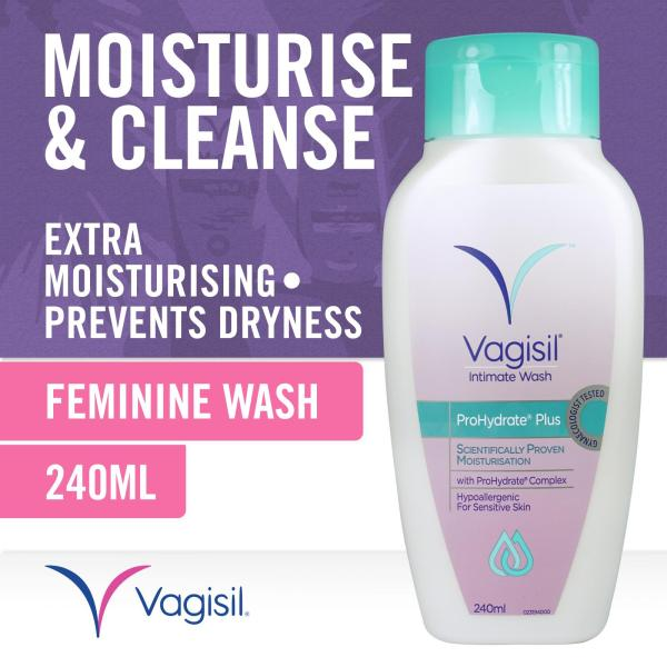 Buy Vagisil ProHydrate Plus Intimate Wash with ProHydrate Complex 240ml Singapore