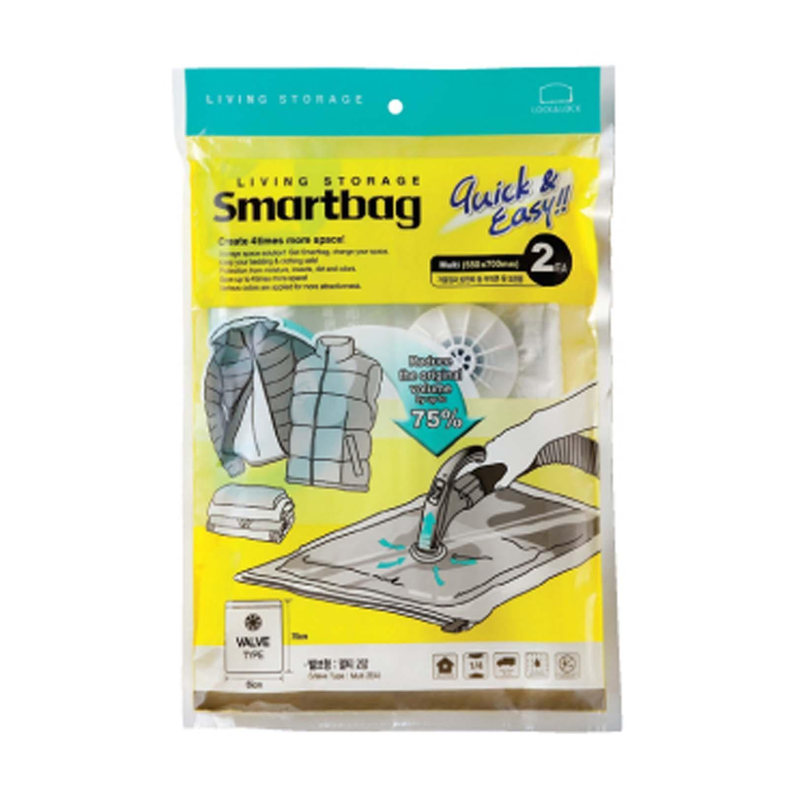 Lock and Lock Smart Bag Multi 2 Pieces Set (Valve)