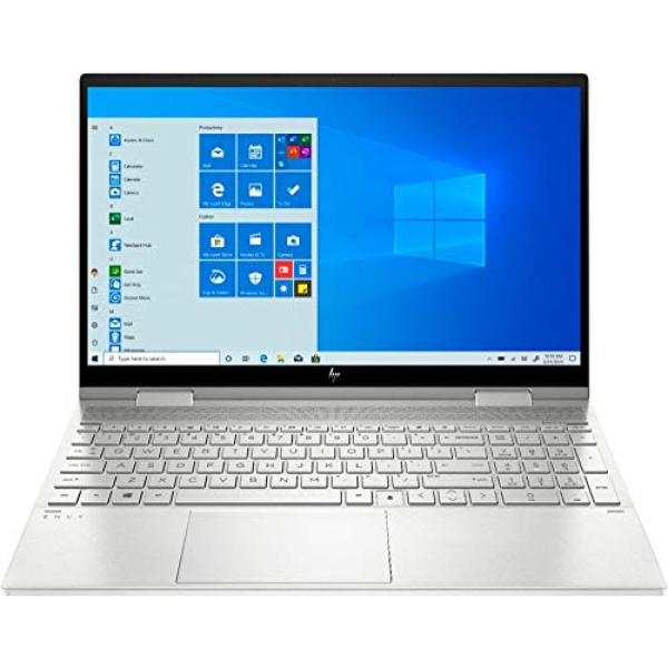 HP - Envy x360 2-in-1 15.6 Touch-Screen Laptop - Intel Core i5 - 8GB Memory - 256GB SSD - Natural Silver