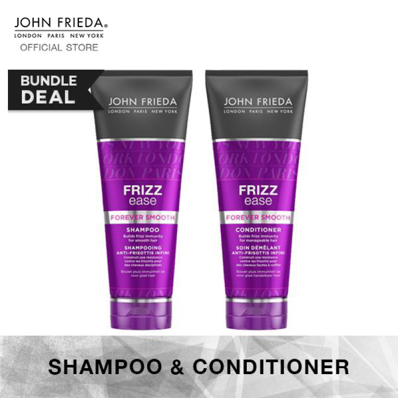 Buy John Frieda Frizz Ease Forever Smooth Shampoo & Conditioner Set Singapore