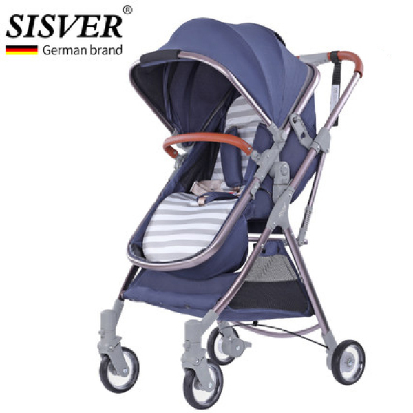 Germany Baby Throne Cabin Size Parent and Forward Facing Two-way Ultra-light Folding High Landscape Sitting and Lying Newborn Baby Stroller Singapore