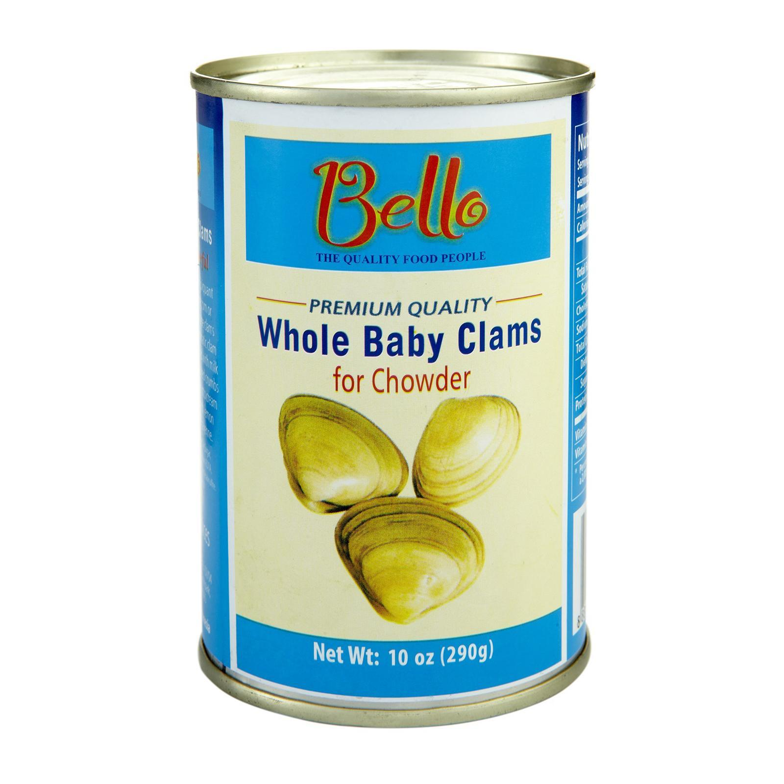 Bello Whole Baby Clams