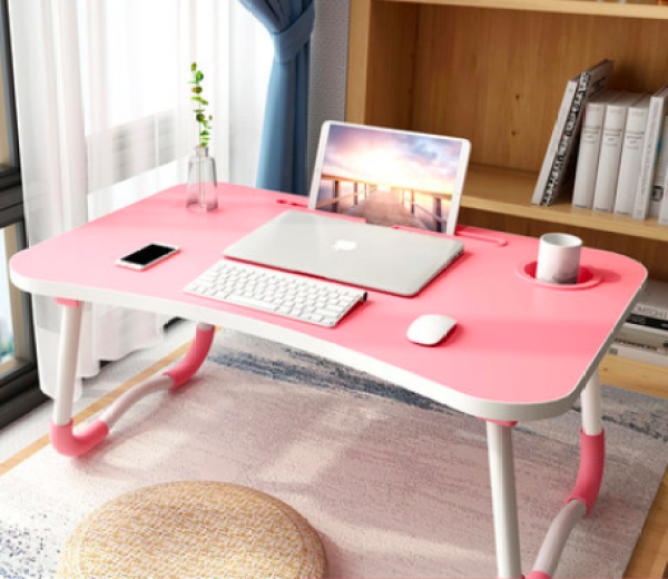 Foldable Bed Table for Laptop / Multi Purpose / Stylish and Convenient Study Table