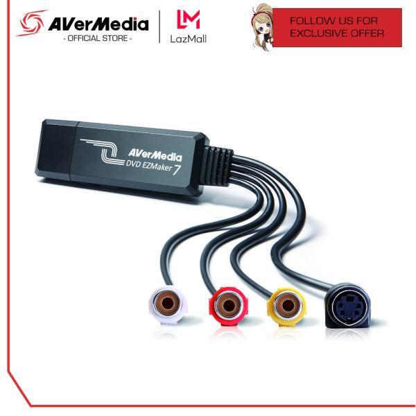 AVerMedia DVD EZMaker 7 | C039 - External USB to Analog Video Converter