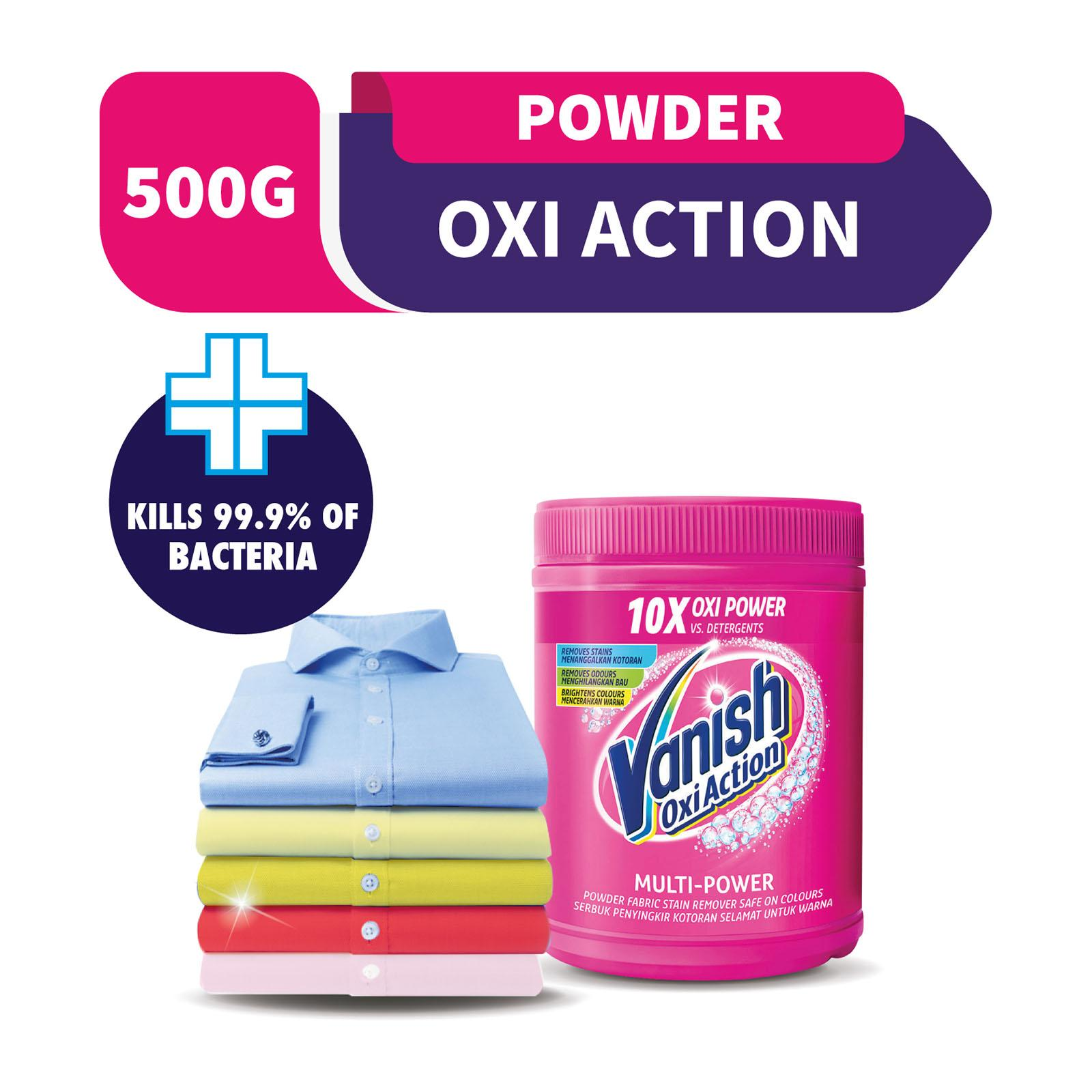 Vanish Oxi Action Crystal White Fabric Stain Remover + Whitener