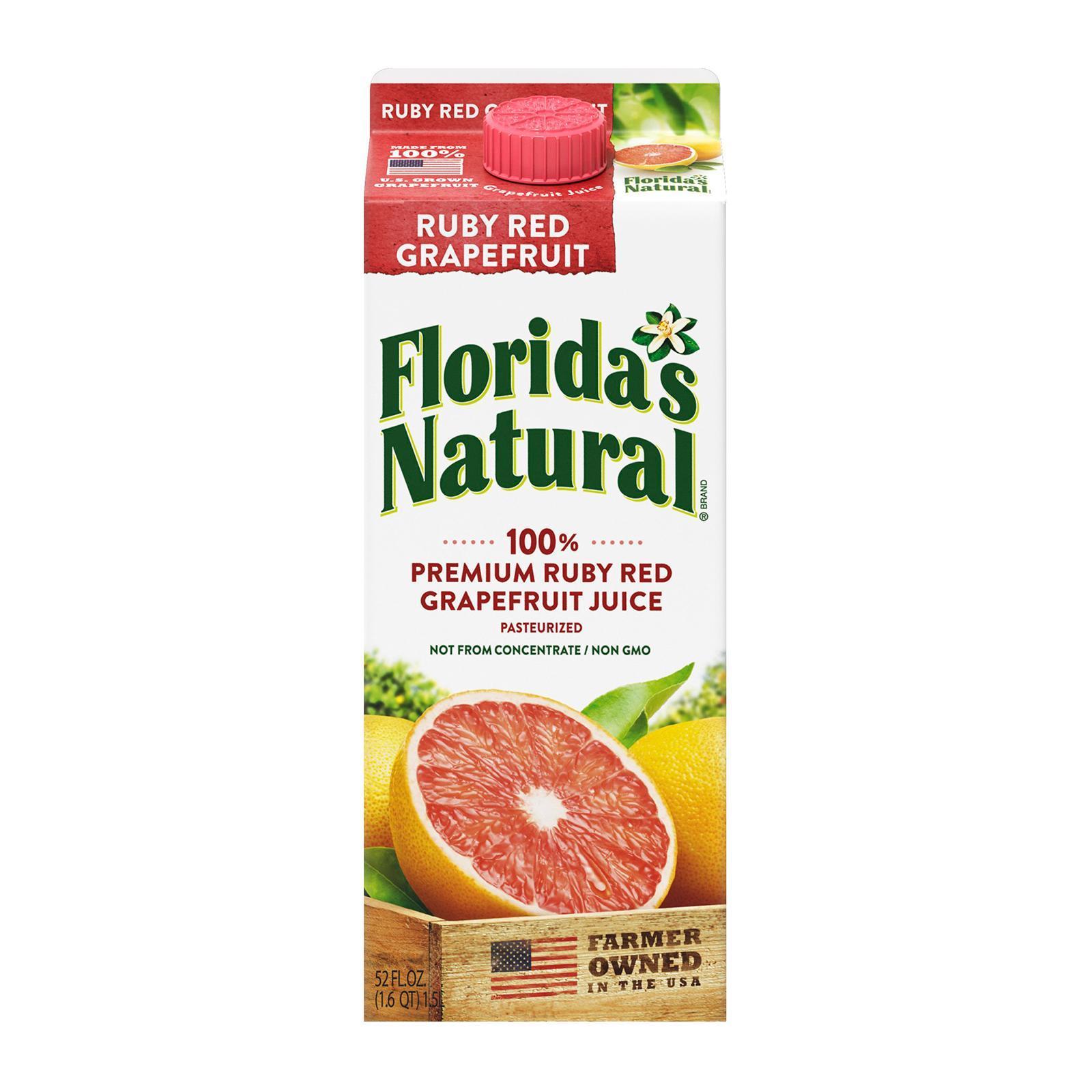 Florida's Natural NFC RubyRed Grapefruit Juice