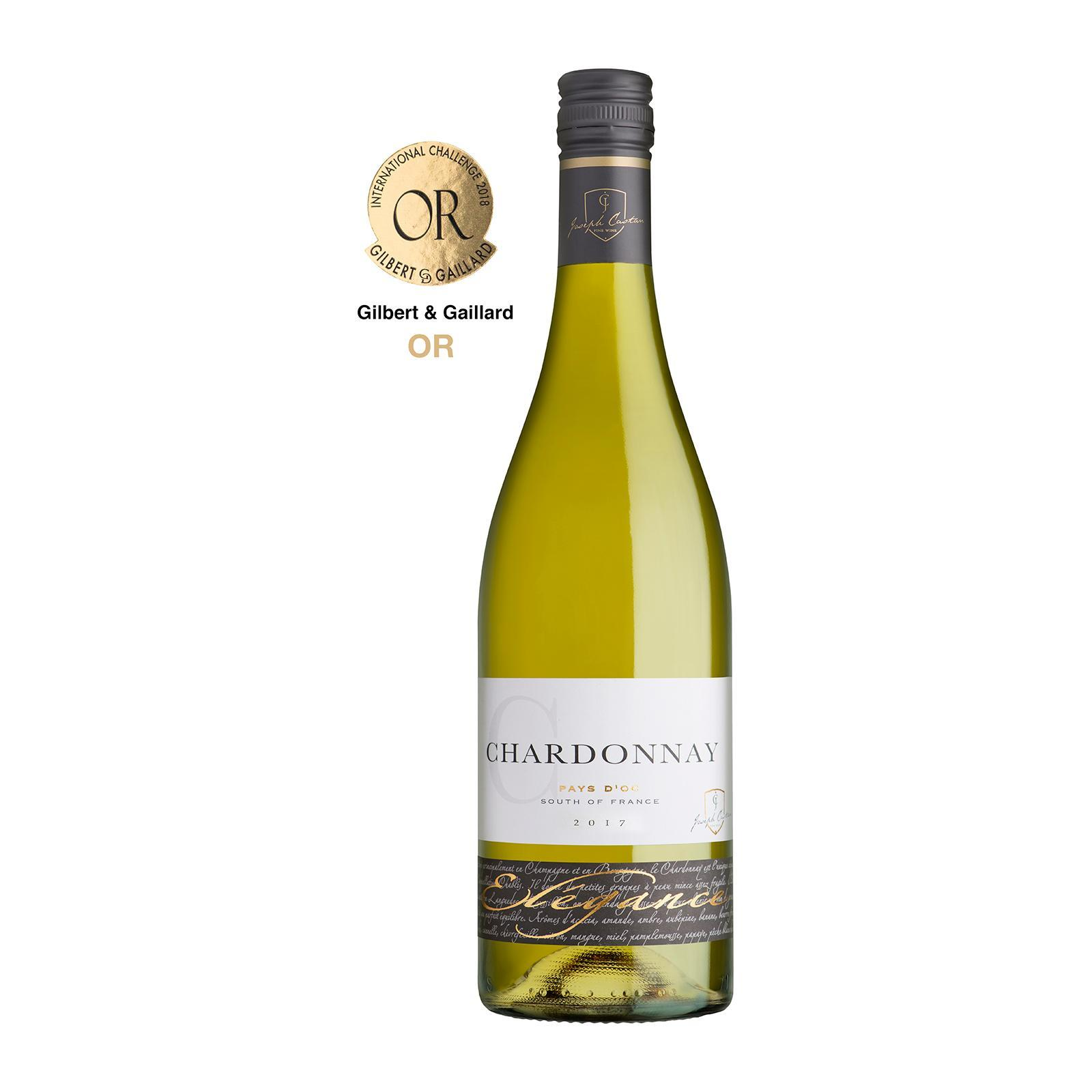 Joseph Castan Fine Wines Elegance Chardonnay 13% - By Wines4you