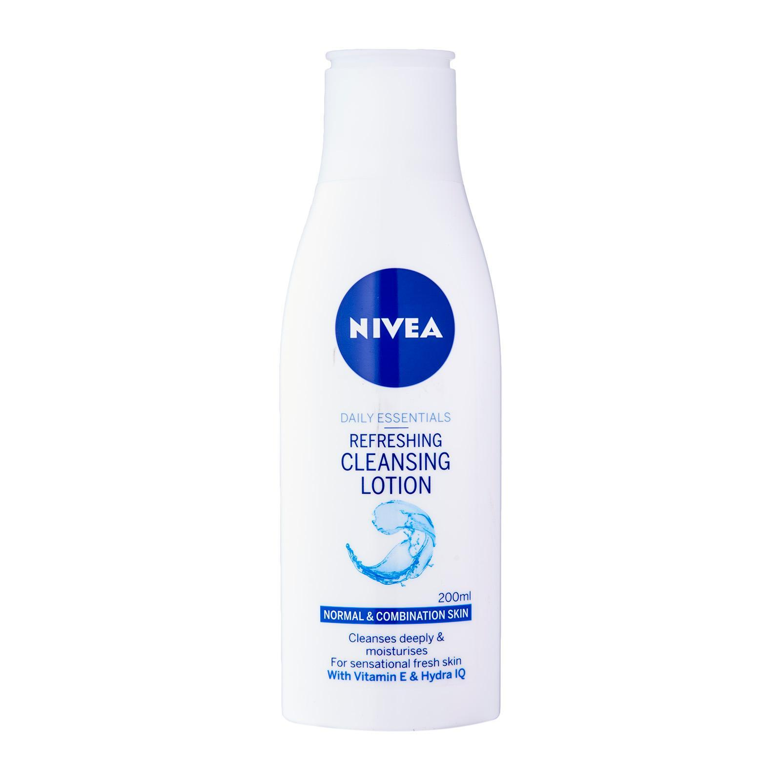 Nivea Face Care for Women Cleanser Refreshing Cleansing Milk