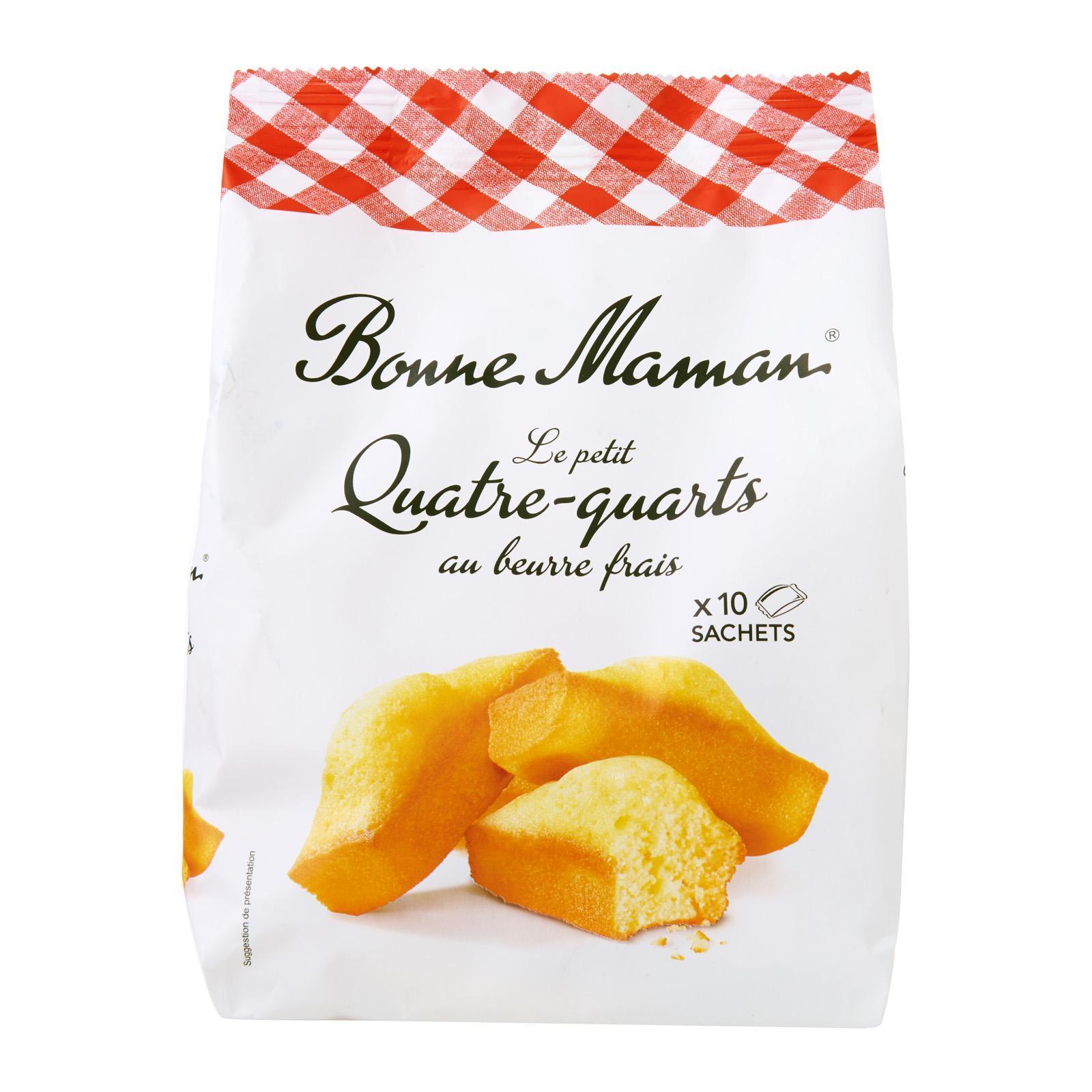 Bonne Maman Petit Quartre-Quarts With Fresh Butter By Redmart.