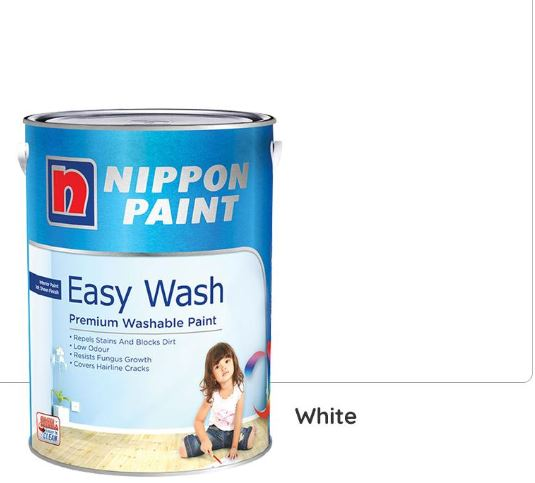Nippon Paint Easy Wash - White - 5L