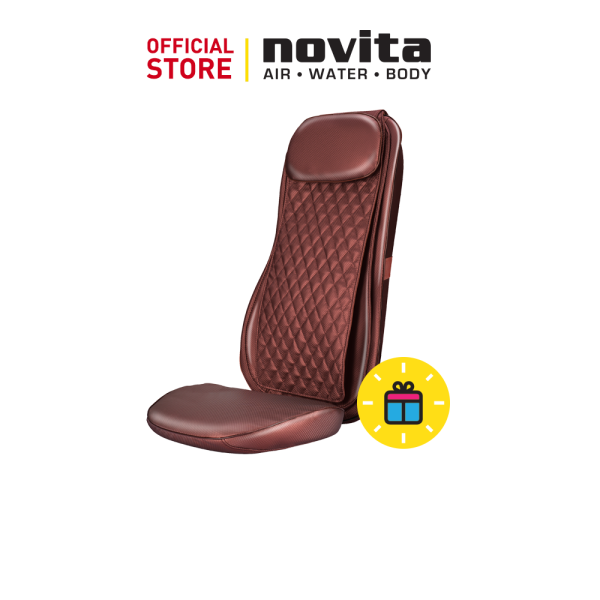 Buy novita Back Massager MC108 with FOC REDEMPTION Respirator R2 Earband, Size M (100pcs in a box) Singapore