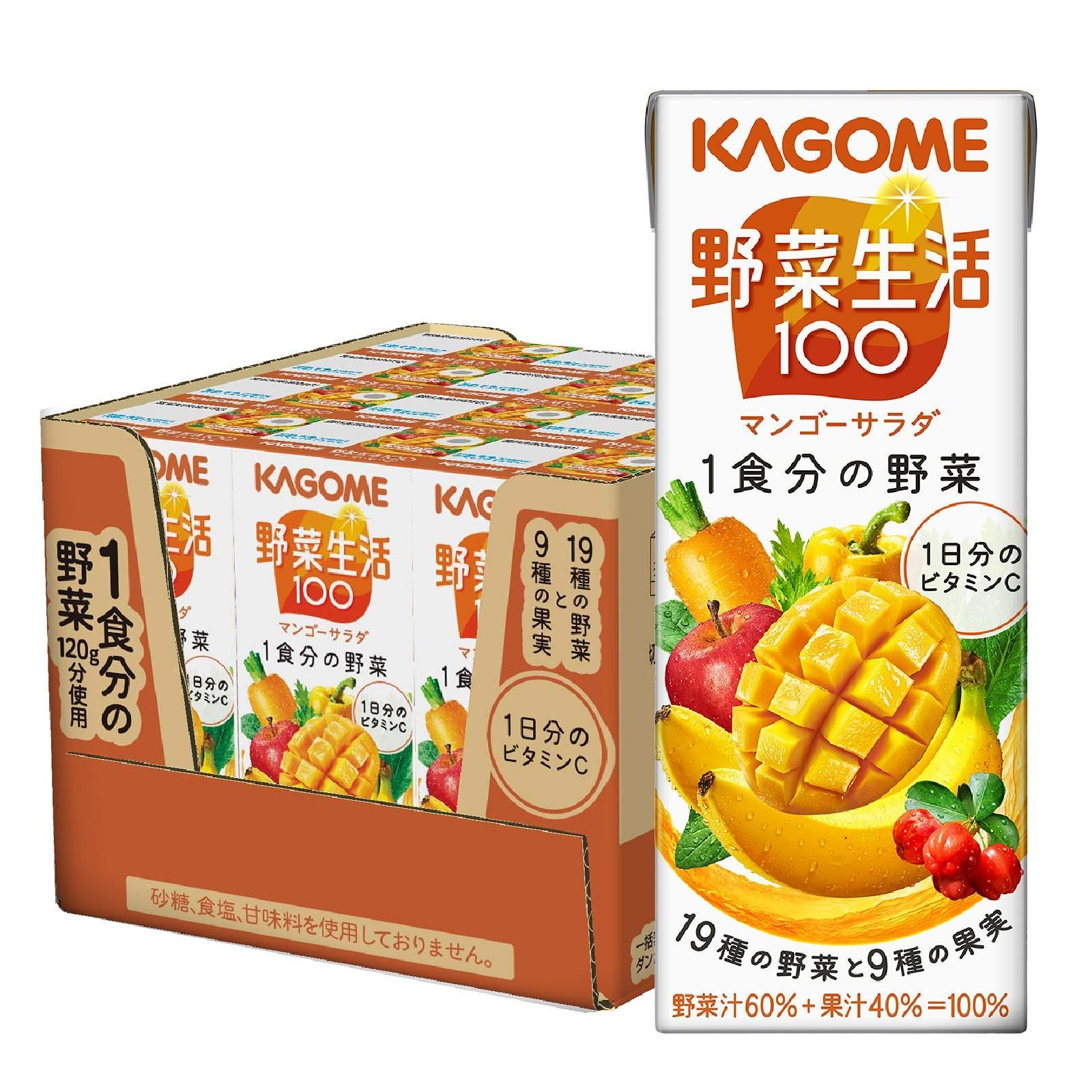 Kagome Mango Salad - Case By Redmart.