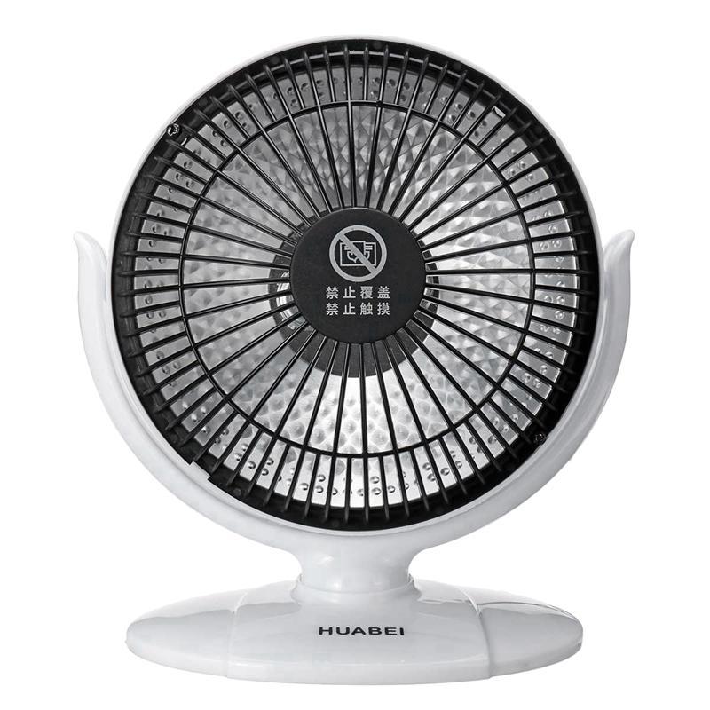 Mini Home Heater Infrared Portable Electric Air Heater Warm Fan Desktop for Winter Household Bathroom US Plug