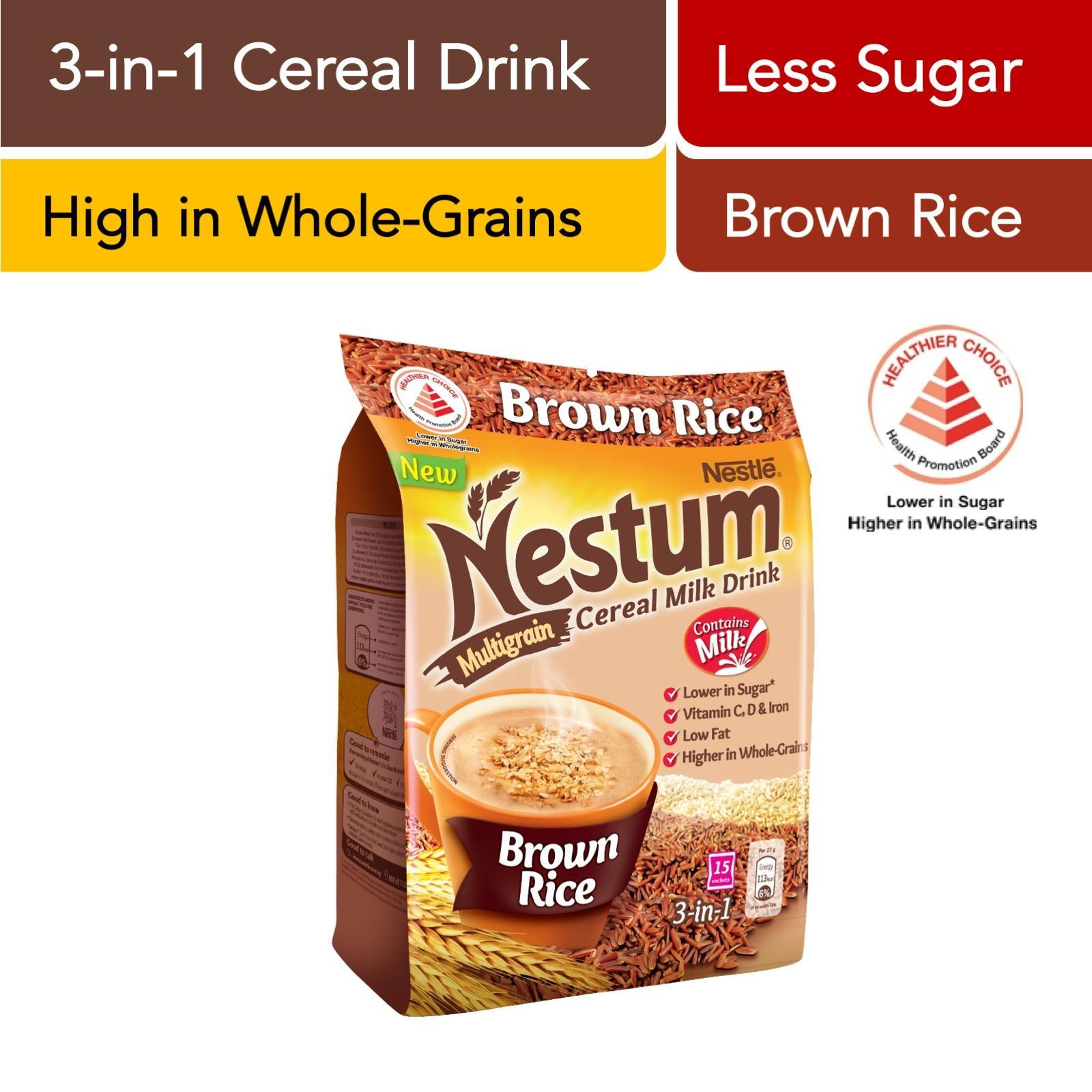 Nestum 3 In 1 Cereal Drink Brown Rice