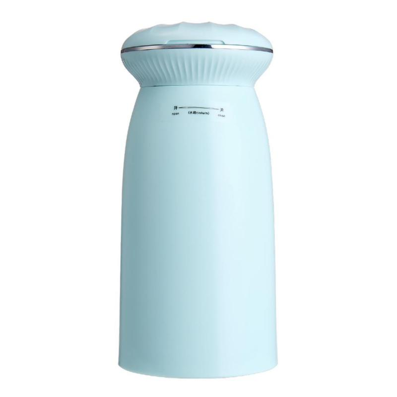 Uebfashion 350ml USB Blue Light Air Humidifier with Shell Makeup Mirror Aroma Diffuser Singapore
