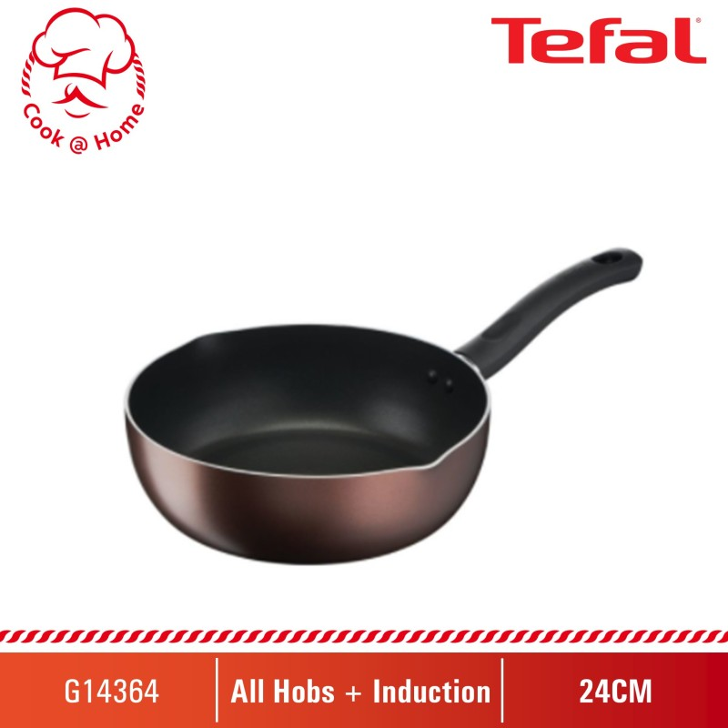 Tefal Day by Day  Deep Frypan 24cm G14364 Singapore