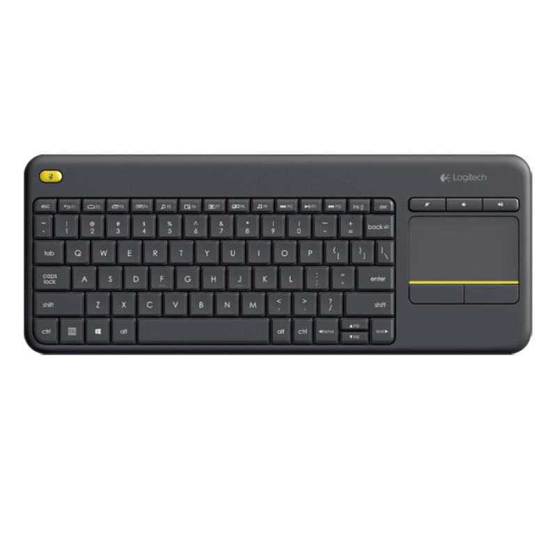 Logitech K400 Plus Wireless Touch HTPC Keyboard Media Friendly TV All Colours Singapore