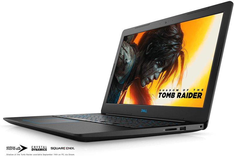 Dell Gaming Laptop G3579-5941BLK-PUS G3 15 3579 - 15.6 Full HD IPS Anti-Glare Display - 8th Gen Intel i5 Processor - 8GB DDR4 - 128GB SSD+1TB HDD - NVIDIA GeForce GTX 1050 4GB, Windows 10 64bit
