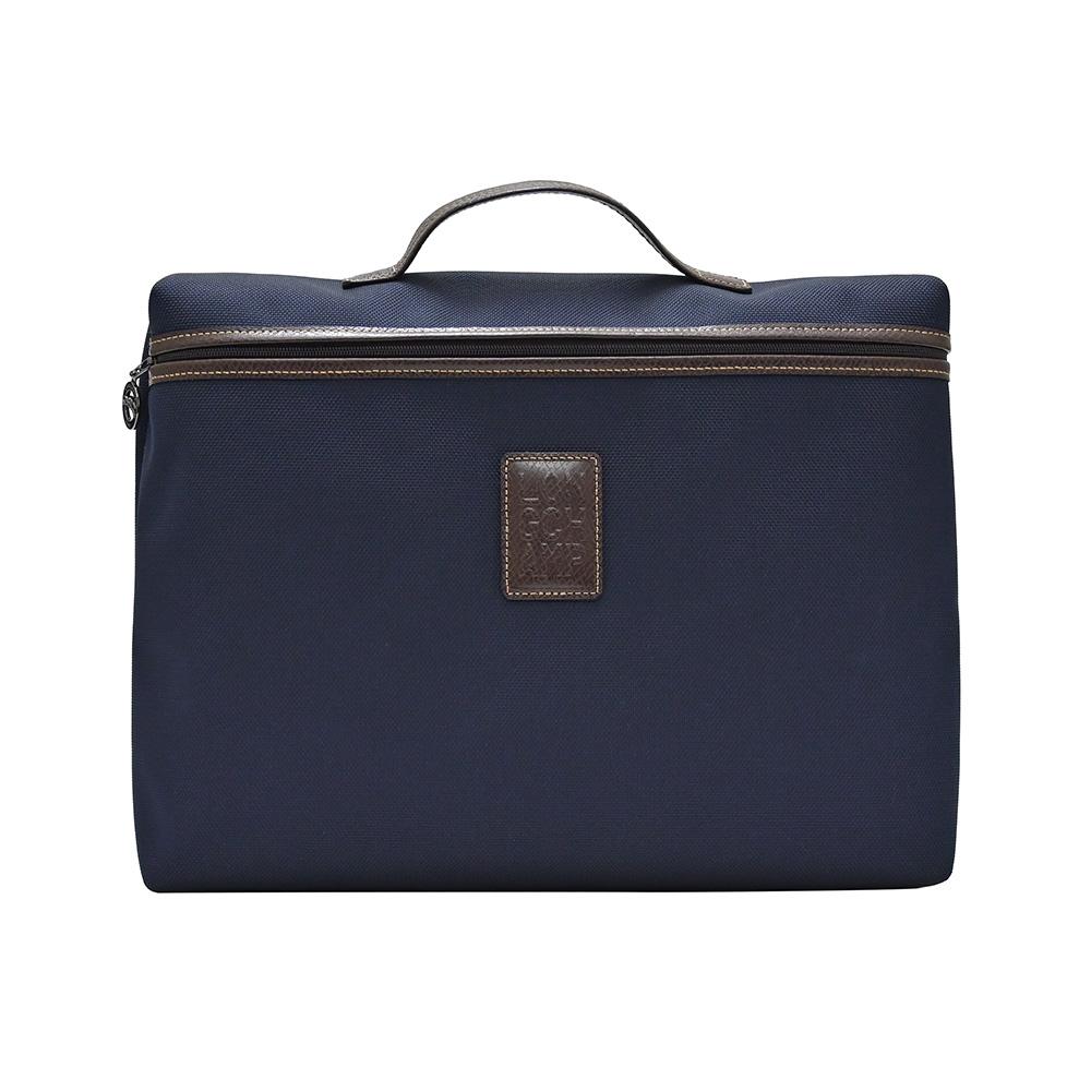 Longchamp Blue Boxford Document Holder