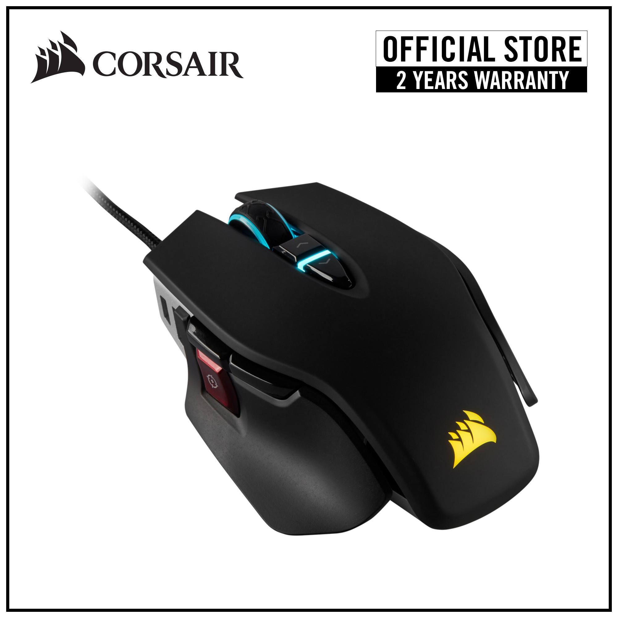 3e4e5ee1352 Singapore. Corsair Gaming M65 RGB ELITE Tunable FPS 18000 DPI Gaming Mouse  - Black