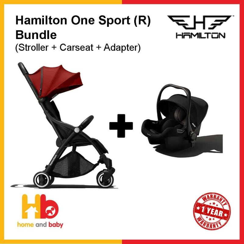 Hamilton One Sport (R) Bundle (Stroller + Carseat + Carseat Adaptor) Singapore