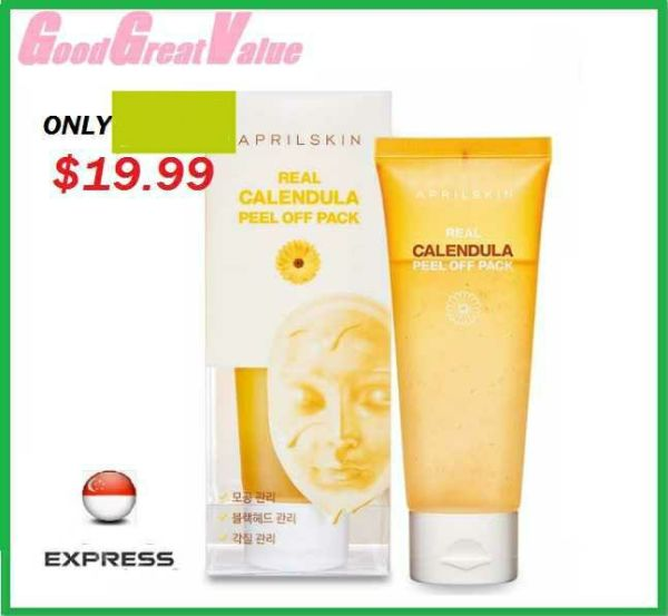 Buy 2020 SG SALES!! April skin Real Calendula Peel Off Pack, 100g Singapore