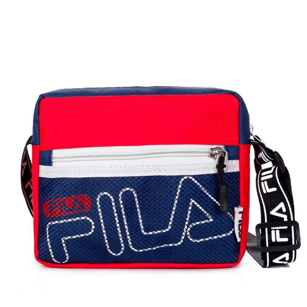 Fila Canvas Crossbody Bags Shoulder Casual Zipper Chest Bag
