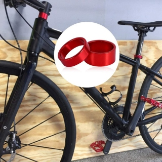 4Pcs Set 5 10 15 20mm Aluminum Alloy Headset Stem Spacer MTB 28.6mm Fork Washer Cap for Road Bike Cycling thumbnail