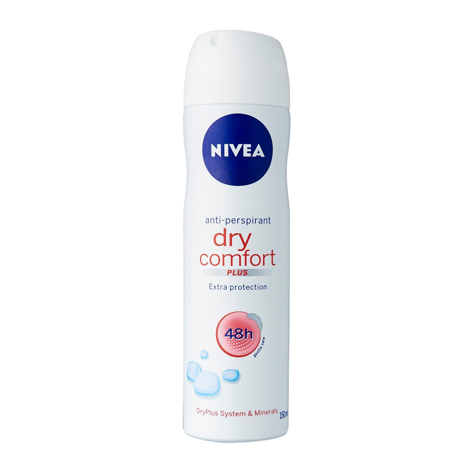 Nivea Dry Comfort Anti-perspirant, 150ml