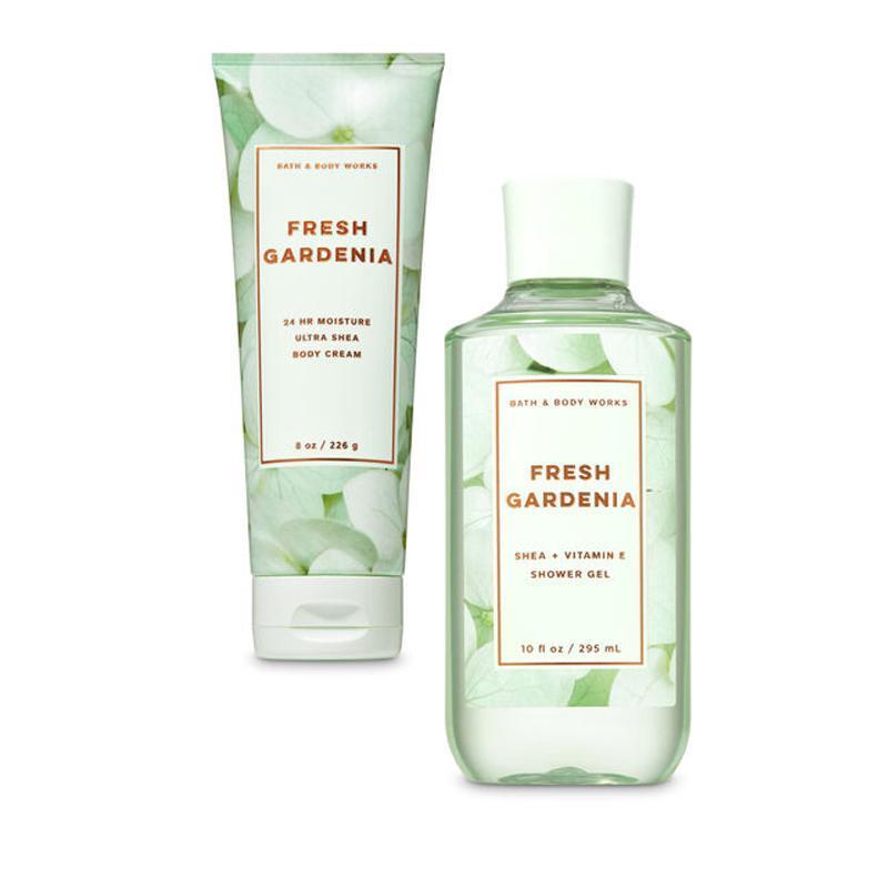 Buy Bath & Body Works : BUNDLE DEAL!!! Fresh Gardenia - Shower Gel and Ultra Shea Body Cream - Bath and Bodyworks - BBW Singapore