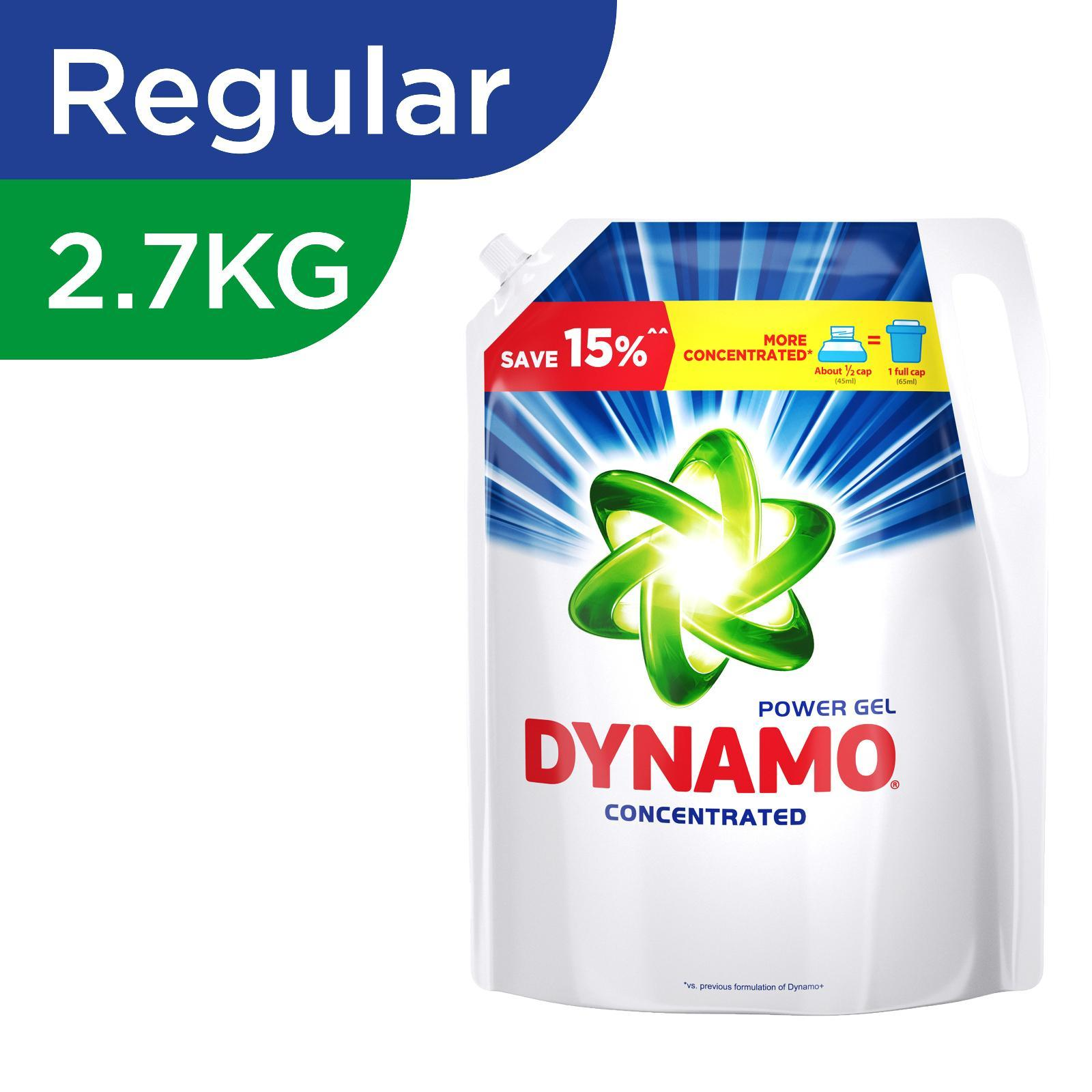 Dynamo Power Gel Regular Laundry Detergent Refill