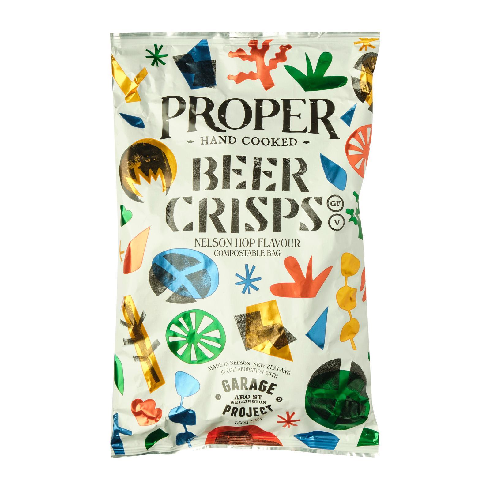 Proper Crisp Compostable Beer Crisps 150g