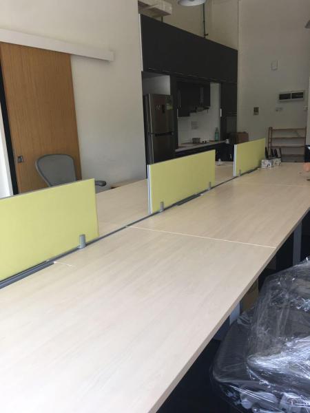 Herman Miller Workstation with Divider - Meeting Table - Office Desk - Office Furniture - Desk with Pedestal - NewStar Furniture Collection