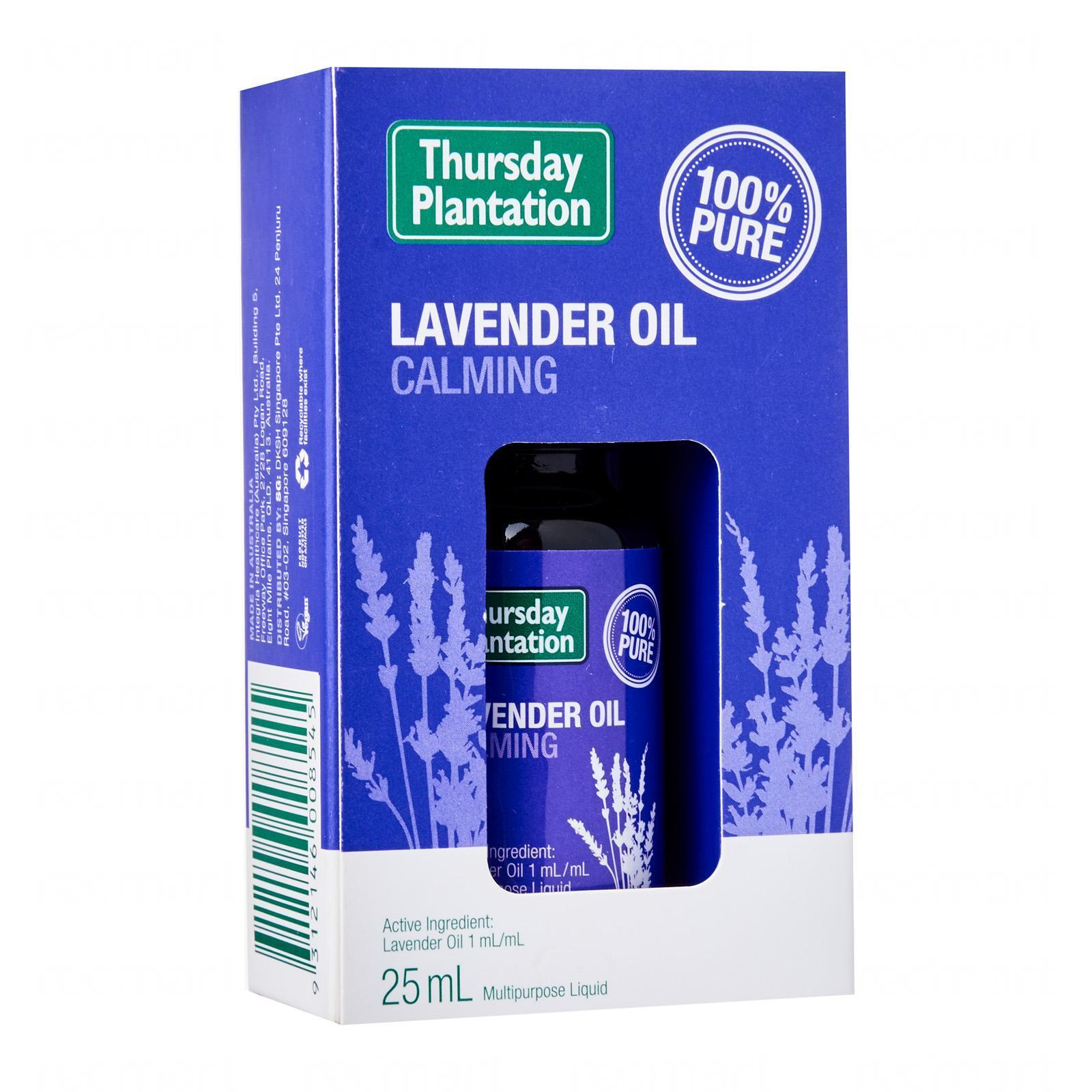 Thursday Plantation Lavender Oil 25 Ml - By Medic Drugstore