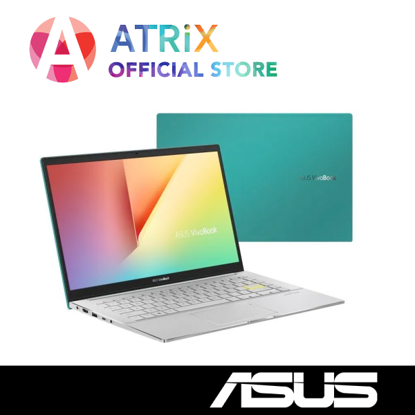 "【Same Day Delivery】ASUS 2020 VivoBook S14 S433FL〖Free Office 2019〗Wifi 6 | 16.1mm Slim design | 15.6"" FHD 