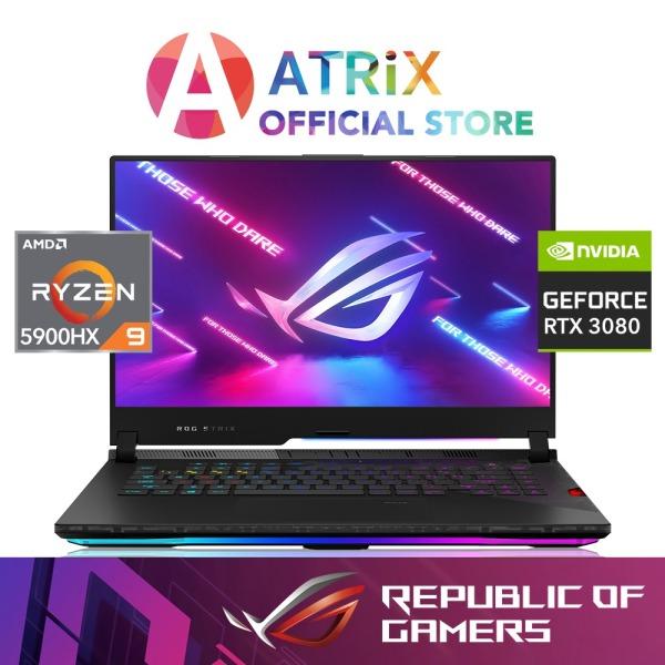 [Pre-Order]  ROG STRIX SCAR G533QS-RTX3080 | 15.6 FHD 300HZ | NVIDIA RTX 3080 | RYZEN R9-5900HX | 32GB/1TB | 2Y
