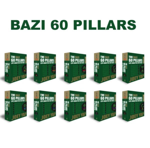 Bazi 60 Pillars Life Analysis Bundle ebooks