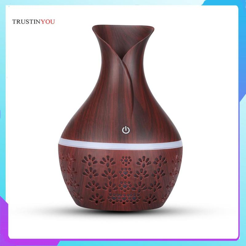 300ml Aromatherapy Essential Oil Diffuser Ultrasonic Air Mist Maker Humidifier Air Dampener Singapore